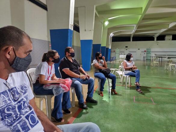 Reunião da Pastoral Vocacional no Colégio Imaculada
