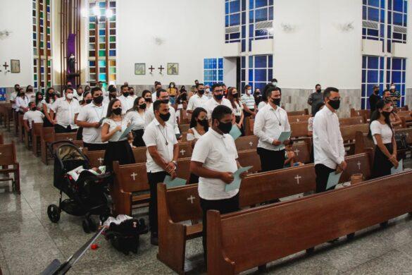 Comunidade Ágape faz Renovação de Compromissos