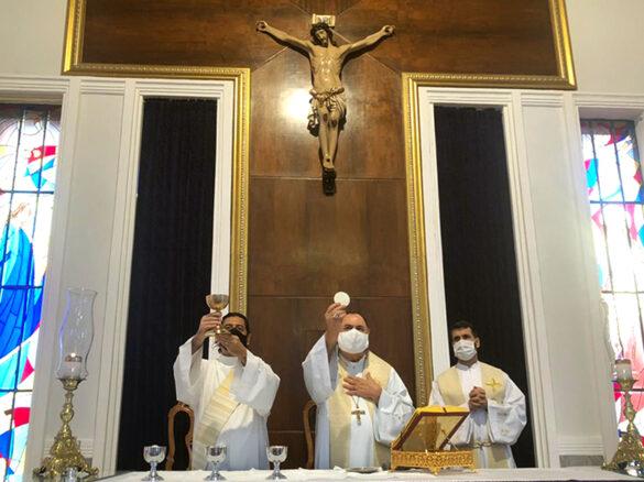 Missa da Festa de São José na Catedral