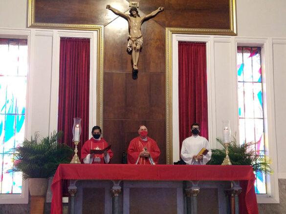Celebração da Missa de Ramos na Catedral