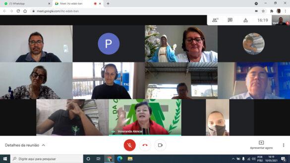 A Pastoral da Criança realiza reunião on-line