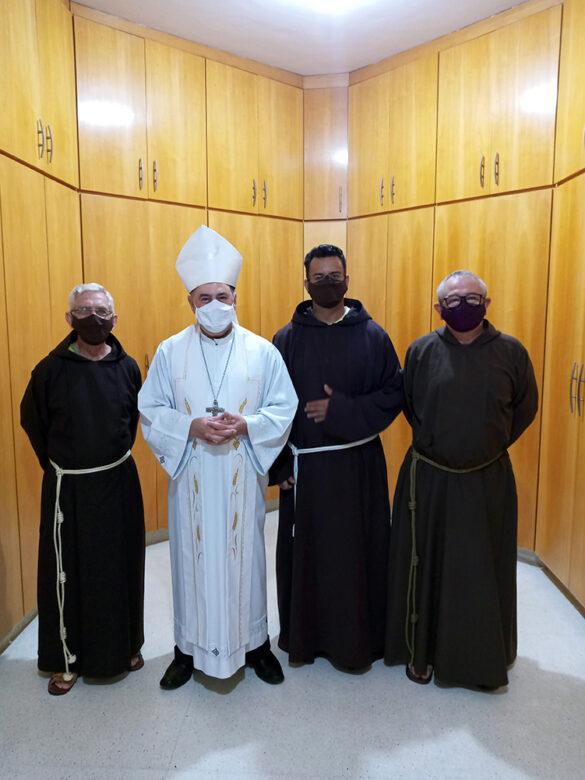 Dom Félix celebra Missa no Santuário de Santa Rita