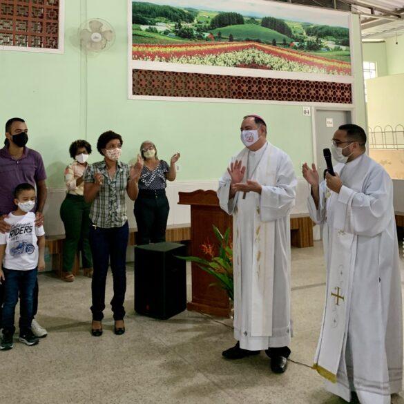 Missa na Festa de São José Operário no Conjunto Sir