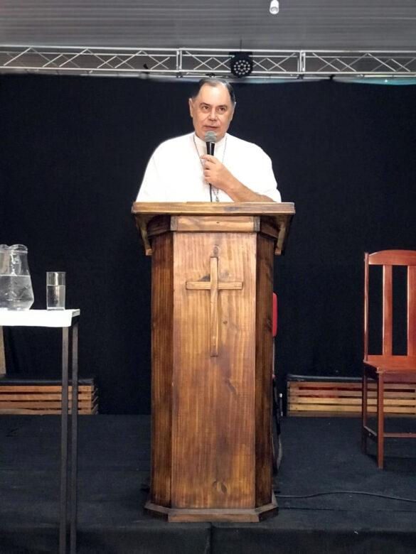 Dom Félix Ministra Formação à Comunidade Ágape