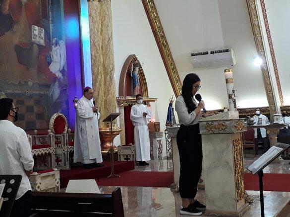 Dom Félix celebra na Paróquia da Ilha