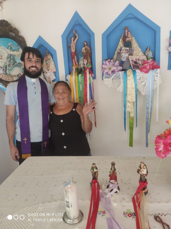 Notícias do Padre Bruno na Diocese de Castanhal