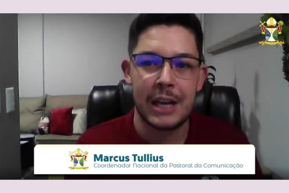 Live sobre A Comunicação na Igreja com Marcus Tullius