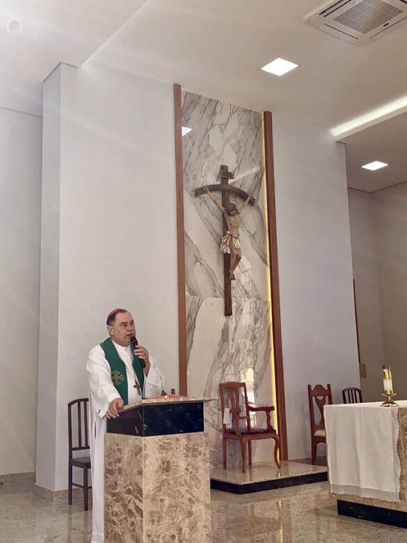 Dom Félix celebra Missa na Paróquia do Conjunto SIR