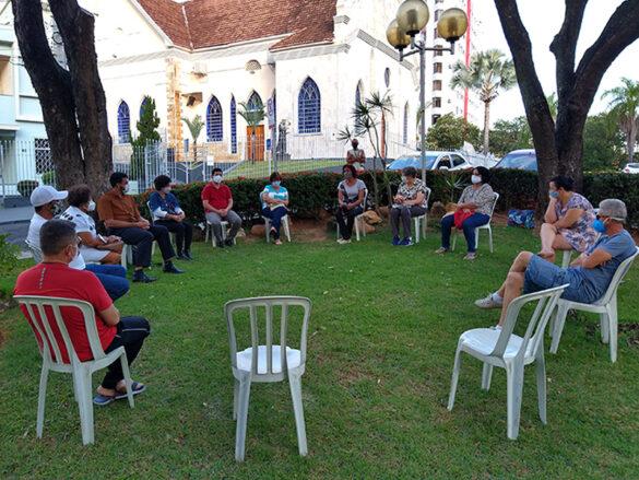 Reunião da Pastoral do Povo em situação de Rua