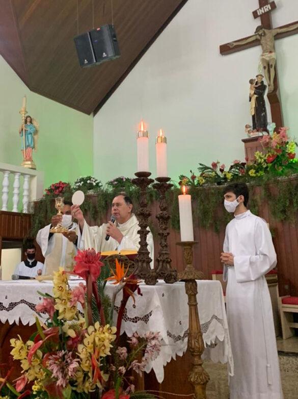 Missa na Trezena de Santo Antônio em Sardoá