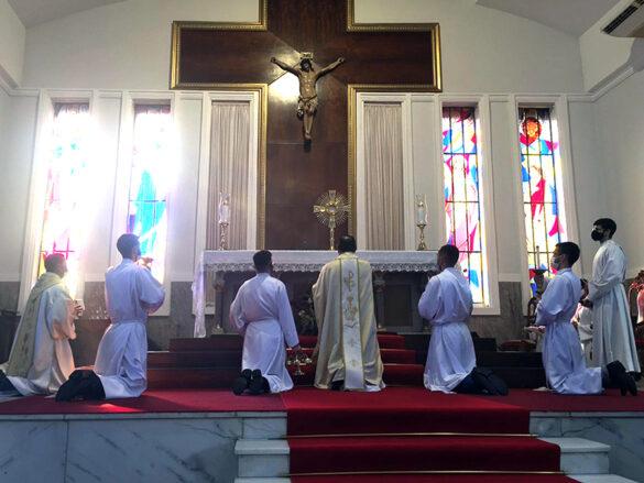 Missa da Festa de Corpus Christi na Catedral