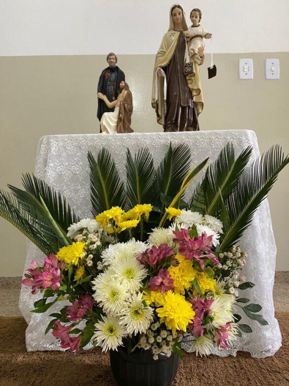 Missa no Hospital São Camilo de Resplendor