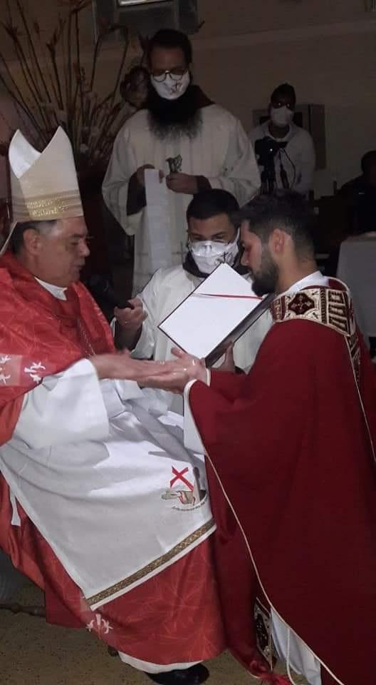 Ordenação Presbiteral do Frei Plínio em Santa Efigênia
