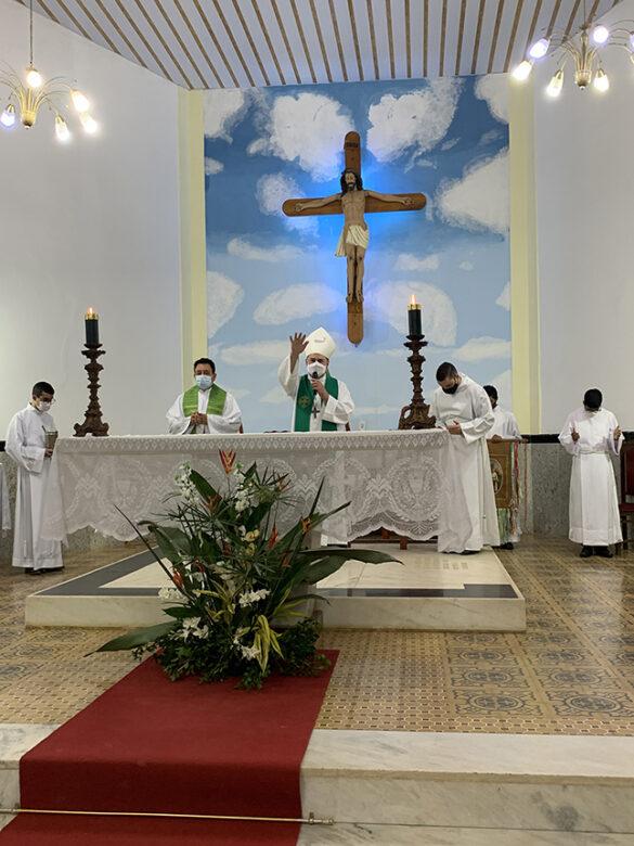 Missa de Abertura da Novena de Sant'Ana em Coroaci