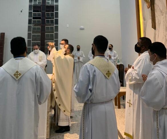 Missa em comemoração aos três anos de Sacerdócio do Pe. Lucas Henrique