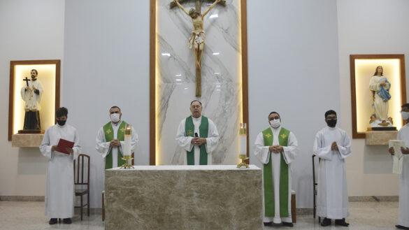 APRESENTAÇÃO DO PADRE MARCUS NA PARÓQUIA DO SIR