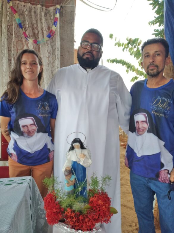 TRÍDUO E FESTA DE SANTA DULCE DOS POBRES EM NAQUE
