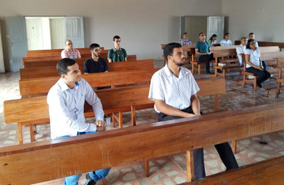Dom Félix celebra Missa no Retiro dos Seminaristas