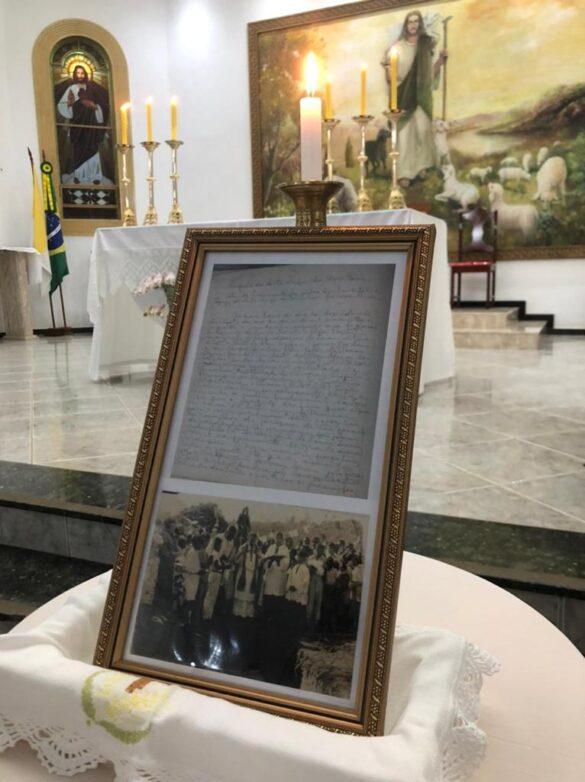 70 ANOS DO LANÇAMENTO DA PEDRA FUNDAMENTAL DA IGREJA MATRIZ DE MARILAC