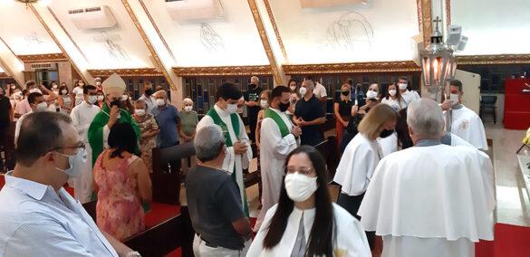 Missa na Assembleia Regional da Pastoral Familiar