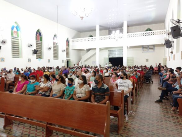 Festa das Comunidades na Paróquia Santa Luzia