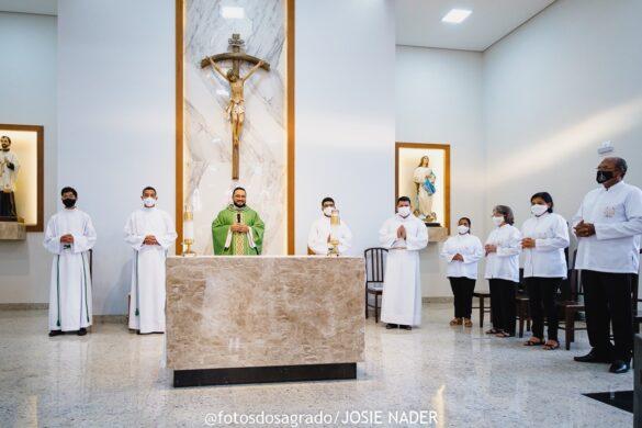 Missa de Envio dos Coroinhas na Paróquia do SIR