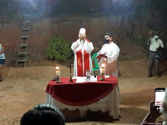 Missa da Festa da Exaltação da Santa Cruz em Resplendor