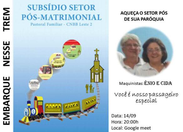 Apresentação do Subsídio para o Setor Pós Matrimonial