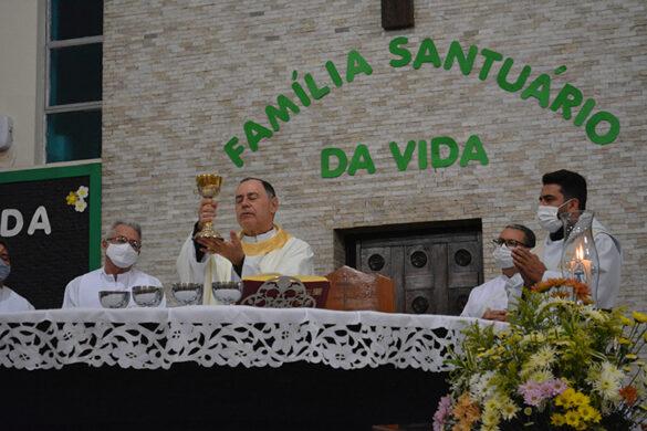 Missa do Dia do Nascituro na Paróquia de Lourdes