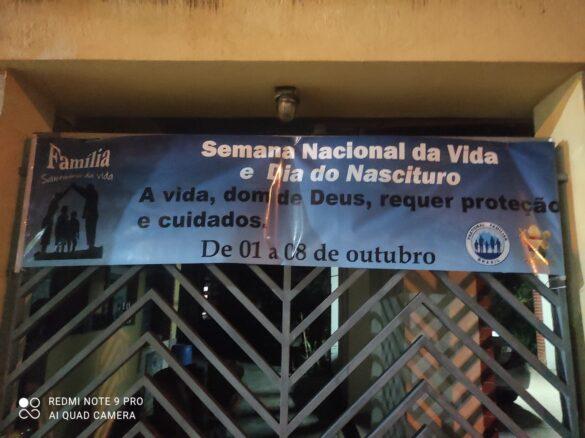 Semana Nacional da Vida na Diocese de Valadares