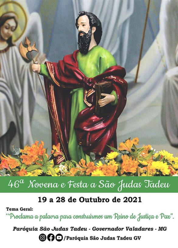 Novena de São Judas Tadeu 2021